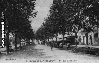 photos et cartes postales anciennes de clermont l 39 h rault 34800. Black Bedroom Furniture Sets. Home Design Ideas