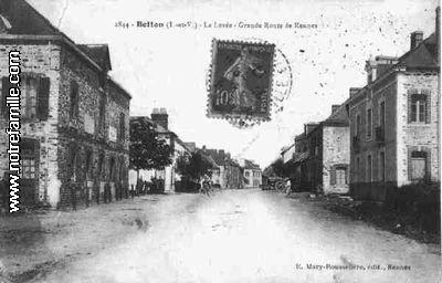 Photos et cartes postales anciennes de betton 35830 for Plan betton