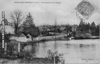 Photos et cartes postales anciennes de bourg des comptes for Restaurant laille 35