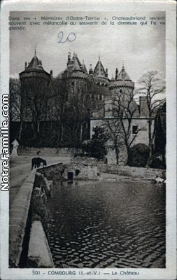 Photos et cartes postales anciennes de combourg 35270 for Piscine de combourg