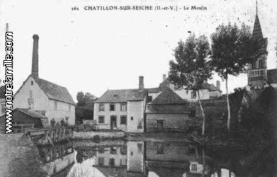 Plan De La Ville De Noyal Sur Vilaine