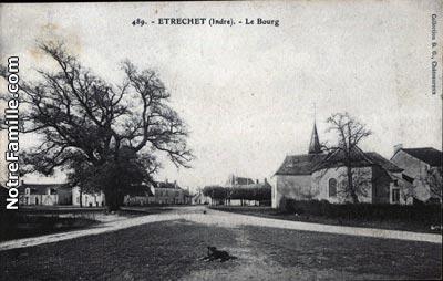 Photos et cartes postales anciennes de trechet 36120 - Meteo le poinconnet ...