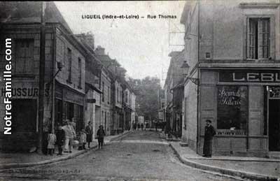 Photos et cartes postales anciennes de ligueil 37240 for Legens materiaux anciens indre et loire
