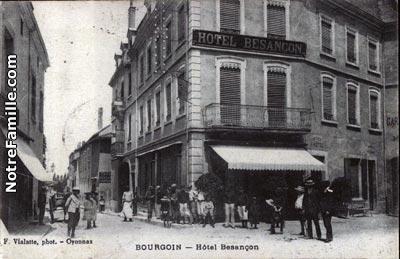 Rue De L Hotel De Ville  Ef Bf Bd Bourgoin Jallieu