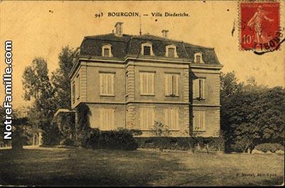 photos et cartes postales anciennes de bourgoin jallieu 38300. Black Bedroom Furniture Sets. Home Design Ideas