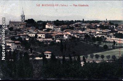 Photos et cartes postales anciennes de roussillon 38150 for 38150 roussillon