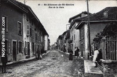 Plan Ville Saint Ettienne Saint Geoirs
