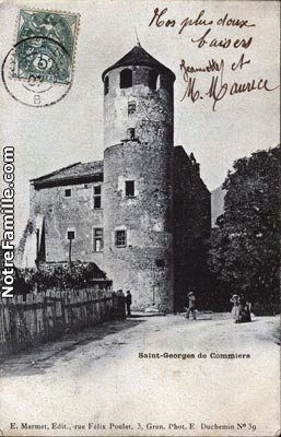 Saint georges de commiers 38450 is re la ville saint for Maison saint georges de commiers