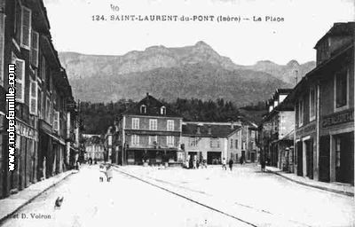 Photos et cartes postales anciennes de saint laurent du - Piscine st laurent du pont ...