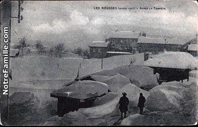 Photos et cartes postales anciennes de les rousses 39220 for Piscine les rousses
