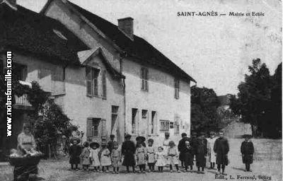 mairie sainte agnes jura