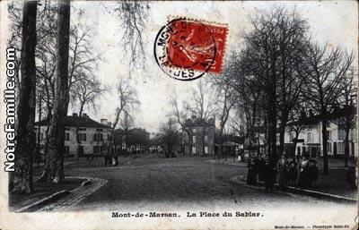 photos et cartes postales anciennes de mont de marsan 40000