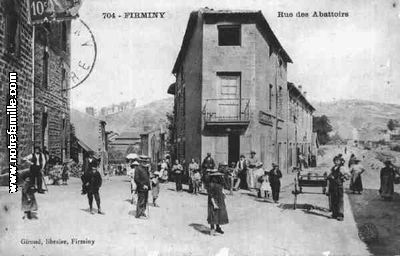 Plan De La Ville De St Just Malmont