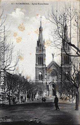 Photos et cartes postales anciennes de saint chamond 42400 - Saint chamond 42400 ...