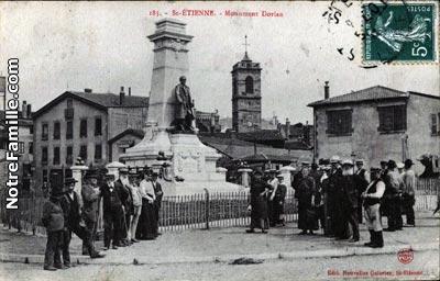 Photos et cartes postales anciennes de saint tienne 42000 - Meteo saint priest en jarez ...
