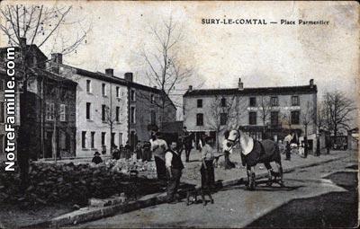 photos et cartes postales anciennes de sury le comtal 42450. Black Bedroom Furniture Sets. Home Design Ideas