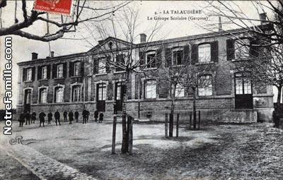 Photos et cartes postales anciennes de la talaudi re 42350 for Restaurant la talaudiere
