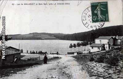 Photos et cartes postales anciennes de la chaise dieu 43160 for Camping municipal les prades la chaise dieu