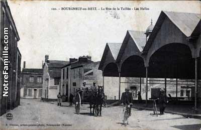 Le Plans De Ville De Moutiers En Retz
