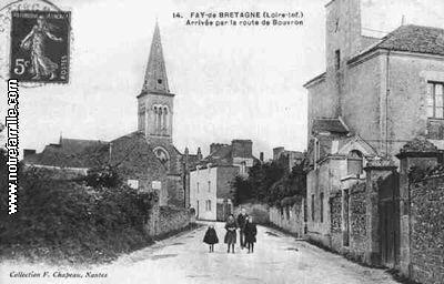Photos et cartes postales anciennes de Fay-de-Bretagne, 44130
