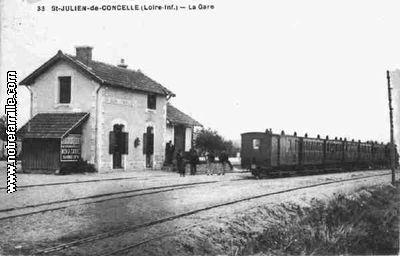 Photos et cartes postales anciennes de saint julien de for Garage ad saint julien de concelles