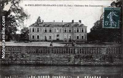 Photos et cartes postales anciennes de saint philbert de for Piscine saint philbert de grand lieu