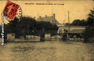 Photos et cartes postales anciennes de ch lette sur loing for Piscine chalette sur loing