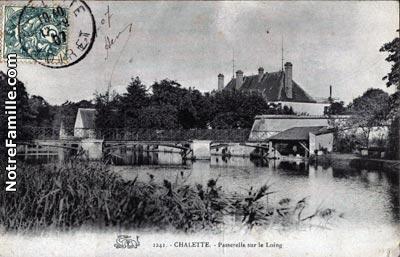 photos et cartes postales anciennes de ch 226 lette sur loing 45120