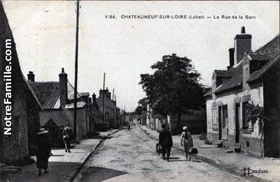 Photos et cartes postales anciennes de ch teauneuf sur loire 45110 - Piscine de chateauneuf sur loire ...