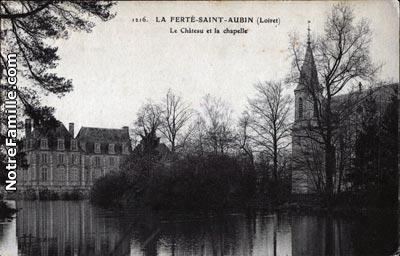 Photos et cartes postales anciennes de la fert saint - Office de tourisme la ferte saint aubin ...
