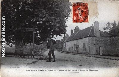 Photos et cartes postales anciennes de fontenay sur loing for Meubles 9 fontenay sur loing