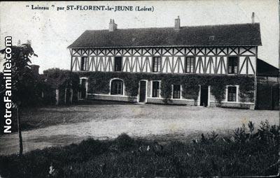 Photos et cartes postales anciennes de Saint-Florent, 45600