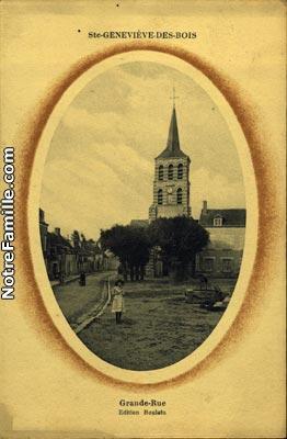Photos et cartes postales anciennes de sainte genevi ve for Piscine sainte genevieve des bois