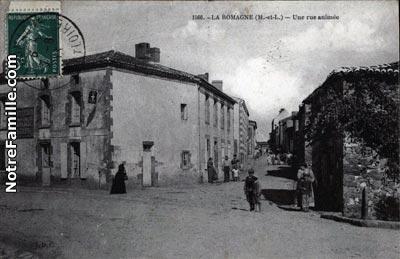 Plan De La Ville De St Macaire En Mauges