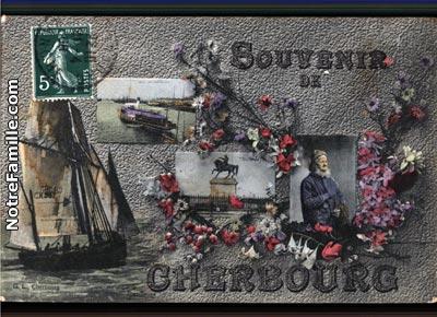 photos et cartes postales anciennes de cherbourg octeville. Black Bedroom Furniture Sets. Home Design Ideas