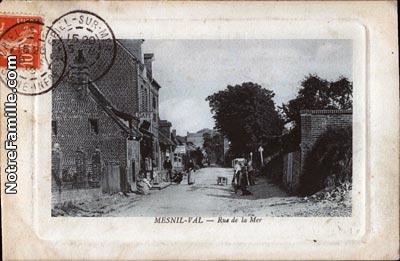 Le Mesnil-au-Val (50110, Manche) : la ville Le Mesnil-au-Val, sa ...