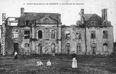 Photos et cartes postales anciennes de saint sauveur le vicomte 50390 - Piscine saint sauveur le vicomte ...