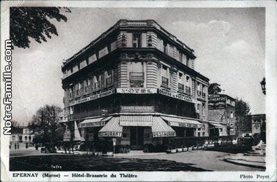 Photos et cartes postales anciennes de pernay 51200 for Plan d epernay