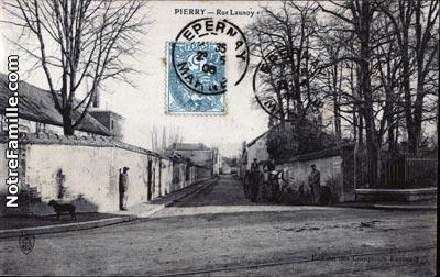 Photos et cartes postales anciennes de pierry 51200 for Leclerc pierry