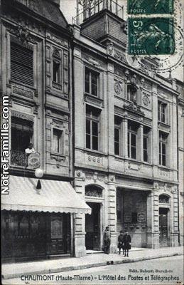 Photos et cartes postales anciennes de chaumont 52000 for Chaumont haute marne