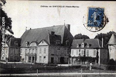 Photos et cartes postales anciennes de dinteville 52120 for 51 haute marne