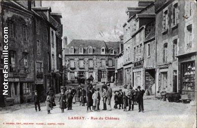 Plan De La Ville De Lassay En Mayenne