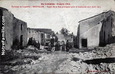 Photos et cartes postales anciennes de bonviller 54300 - Boncoin meurthe et moselle ...