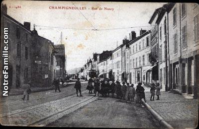 Rue De L Hotel De Ville Champigneulles