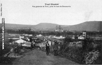 Photos et cartes postales anciennes de dommartin l s toul for Toul 54200 plan