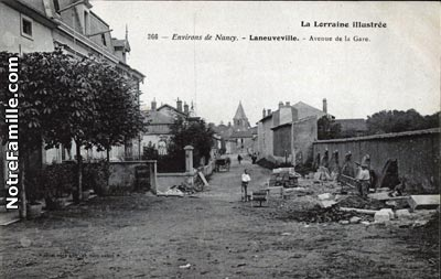 Photos et cartes postales anciennes de laneuveville devant for Laneuveville devant nancy