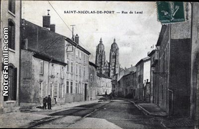 Photos et cartes postales anciennes de saint nicolas de - Clinique veterinaire saint nicolas de port ...