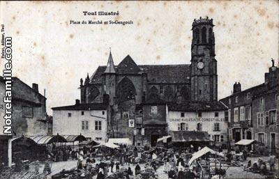 Photos et cartes postales anciennes de toul 54200 for Toul 54200 plan