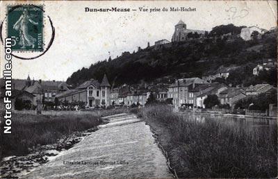 Photos Et Cartes Postales Anciennes De Dun Sur Meuse 55110