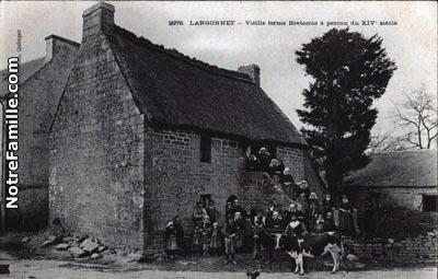 Photos Et Cartes Postales Anciennes De Langonnet 56630